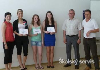 Tretiaci Obchodnej akadémie v Prievidzi prezentovali Bojnické kúpele