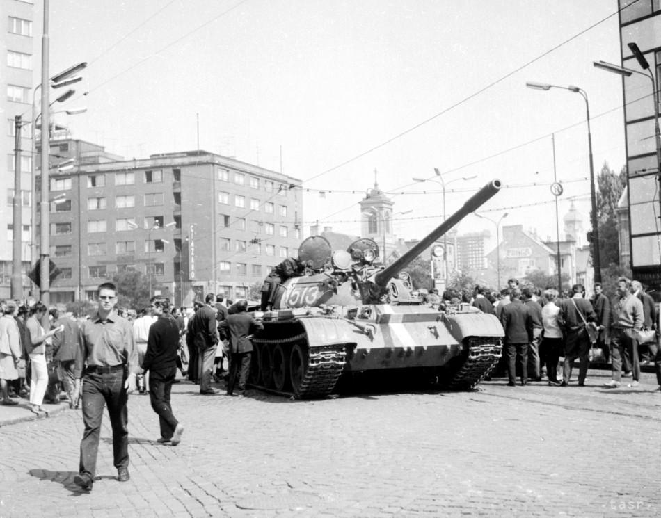 V bývalom Československu sa v auguste 1968 začala okupácia