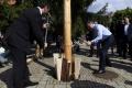 Premiér R. Fico postavil máj, aj otvoril zrekonštruovanú telocvičňu