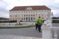 Zámok Schloss Hof je v zime ako kulisa rozprávky o Popoluške