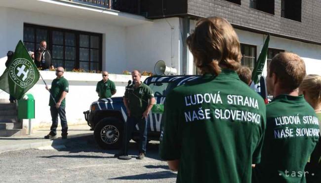 Kotlebovci chcú povolebný míting v Piešťanoch ae7e020049e