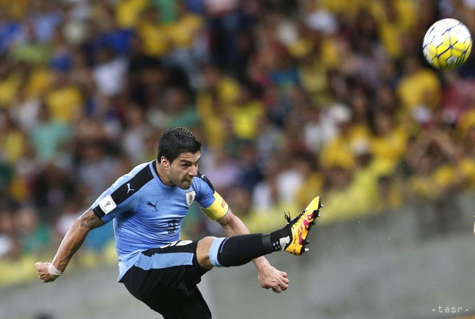 164a66a6727de Brazília remizovala s Uruguajom v kvalifikácii na MS, Suarez skóroval