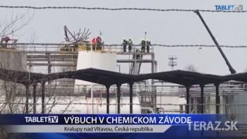 VIDEO: Pri výbuchu v chemičke zomrelo šesť ľudí: Zranené sú dve osoby