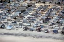 Škody napáchané superbúrkou Sandy