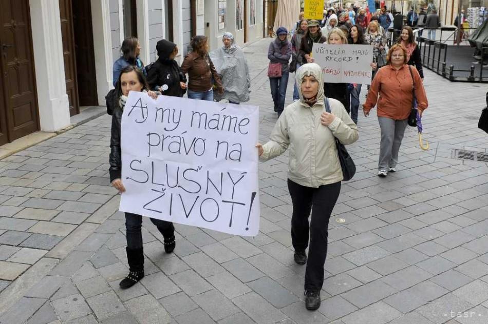štrajk učitelia - Fotodenník - SkolskyServis.TERAZ.sk e55868d2a24