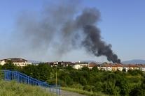 Blšák, Košice, požiar