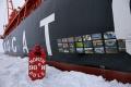 Fotograf Filip Kulisev vystavoval svoje diela na Severnom póle