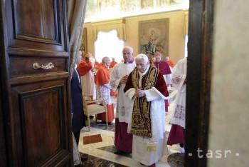 Pápež Benedikt XVI. oznámil, že sa vzdáva pontifikátu
