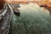 Ľadoborce na Dunaji