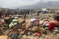 Smutné zábery z Afganistanu