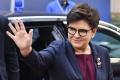 Poľská premiérka sa zúčastnila na prvej omši, ktorú celebroval jej syn