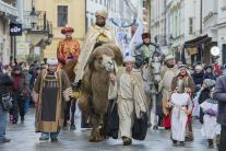 Traja králi, sprievod, Bratislava