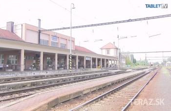 Unikátny vlakový videoprojekt: Železničná stanica Komárno