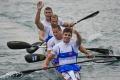 Slovenský štvorkajak získal striebro na 500 m v Moskve