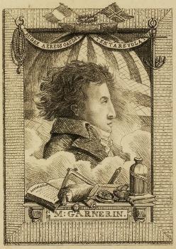Pred 220 rokmi zveril A.J.Garnerin svoju telesnú schránku padáku