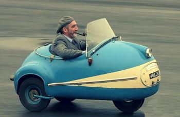 Mikroautá Brütsch sa predávali za pár stoviek, jazdili za 2,5 litra