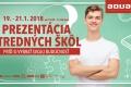 V Nových Zámkoch je cez víkend prezentácia škôl z regiónu