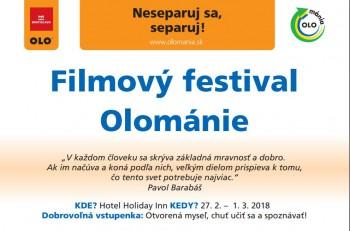K separovaniu odpadu motivuje 6. ročník filmového festivalu Olománia