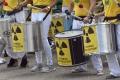 Tisíce ľudí protestovali proti belgickým jadrovým reaktorom