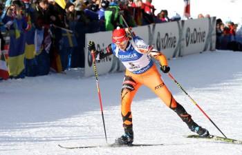 V miešaných štafetách triumf biatlonistov Nemecka, Slováci 19.