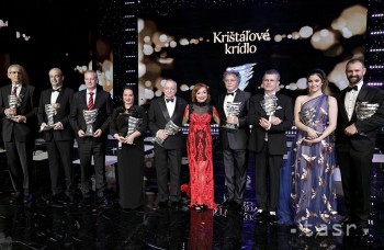 Highlighty týždňa: Ceny Krištáľové krídlo a Slováci na Českých levoch