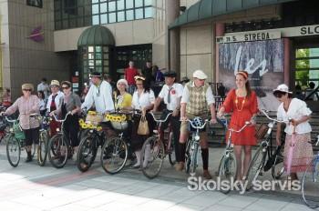 V Martine sa bicyklovalo späť v čase
