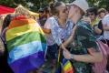 FOTO: LGBTI priaznivci politikom: Nezneužívajte nás na svoju kampaň
