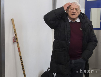 Na snímke bývalý hokejový reprezentant Československa Jozef Golonka na Zimnom štadióne Odreja Nepelu 10. decembra 2018 v Bratislave.
