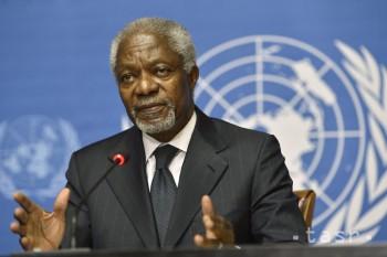 Bývalý generálny tajomník OSN Kofi Annan jubiluje: má 75 rokov