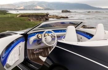 Kabriolet, ktorý pripomína luxusnú jachtu