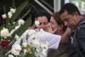 VIDEO: Brazílčania sa lúčia s obeťami leteckej nehody v Kolumbii