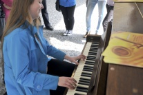 Verejný klavír v Žiline