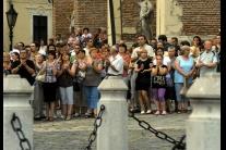 Stretnutie v Trnave na podporu arcibiskupa Róberta
