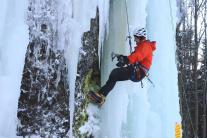 Ľadová stena na Skalke pri Kremnici