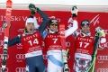 Super-G v Jeongseone pre Švajčiara Janka, Adam Žampa nedokončil