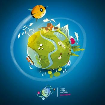 EDULAB spúšťa projekt Misia modrá planéta. Záujem škôl je enormný