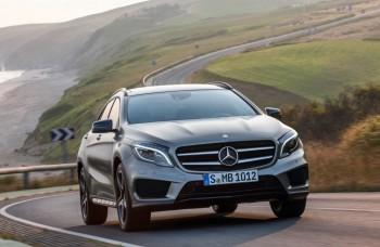 Mercedes GLA: Prvé kompaktné SUV s hviezdou na prednej maske