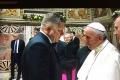 FOTO: Pápež: Solidarita je prostriedkom proti modernému populizmu