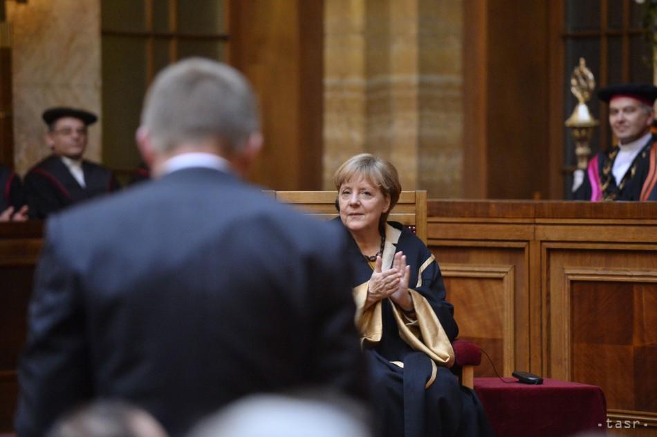 Najvplyvnejšia žena sveta si v Bratislave prevzala čestný doktorát