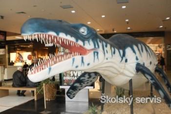 Galériu Mlyny v Nitre obsadili dinosauri
