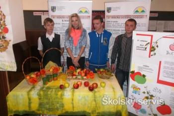 Deň jablka na SOŠ drevárskej a stavebnej v Krásne nad Kysucou