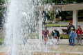 Herľanský gejzír stále láka turistov, vznikol pre potreby kúpeľov