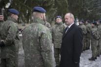 Peter Gajdoš, minister obrany, armáda