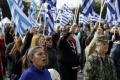 Zlatý úsvit protestoval proti výstavbe utečeneckého tábora pri Aténach