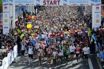 Štart ČSOB Bratislavského maratónu