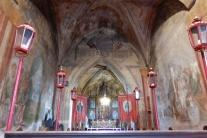 Vzácne fresky v Kostole Nanebovzatia Panny Márie v