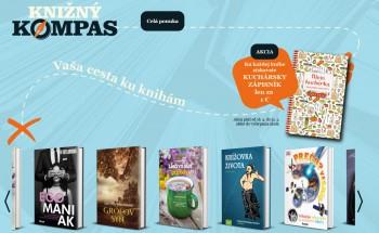 Kampaň na podporu čítania Knižný kompas štartuje Mama