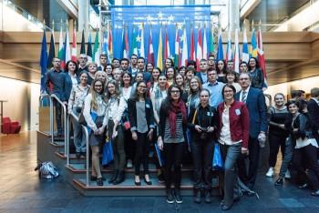 Návšteva ambasádorov EPAS v Európskom parlamente v Štrasburgu