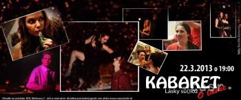 Divadlo na zastávke uvedie reprízu Kabaretu o láske