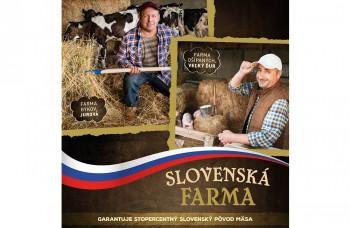 Slovenská farma je spojením kvality a domáceho pôvodu mäsa